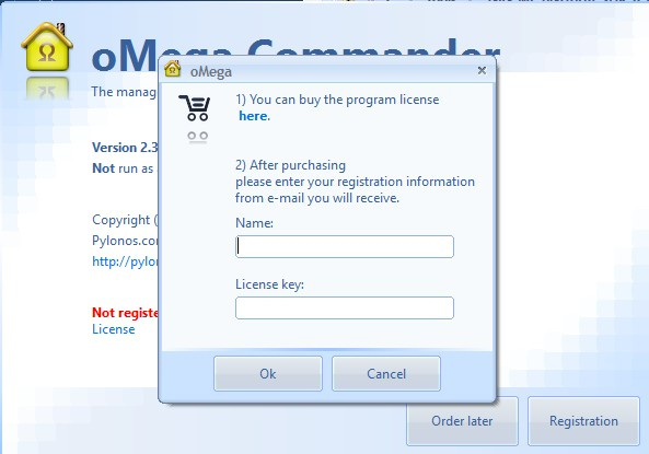 Registration Popup